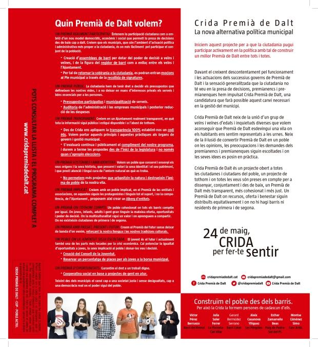 Díptic Premià de Dalt CUP Poble Actiu tall-2